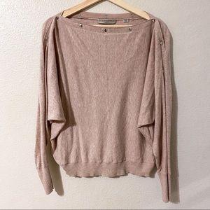 All Saints Elle Snap Sweater